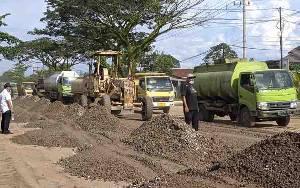 Pemkab Kotim Ingin Proyek Perbaikan Jalan Lingkar Selatan Segera Dilelang