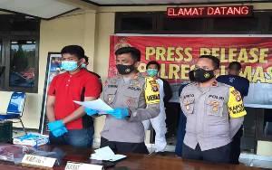 Polres Gunung Mas Tangkap 2 Pencuri Aki Alat Berat Milik Perusahaan