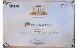 Bank Kalteng Kembali Torehkan Prestasi di Ajang Infobank Award 2021