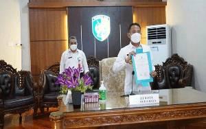 Pemko Palangka Raya Wajib Laporkan Kas Daerah ke BPK