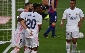 Menang 2-0 atas Eibar, Real Madrid Naik ke Peringkat Kedua Klasemen