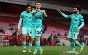 Diogo Jota Pimpin Liverpool Babat Arsenal 3-0