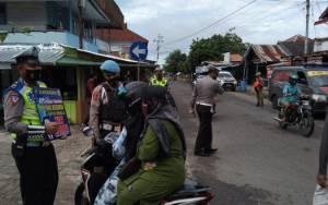 Hari Libur Operasi Yustisi Covid-19 di Kuala PembuangTetap Dilaksanakan