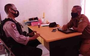 Jajaran Polsek Seruyan Hilir Sambangi Kantor Desa Bangun Harja, Ini Tujuannya