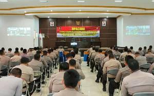 Ratusan Bintara Jajaran Polda Kalteng Ikuti Pelatihan Teknis