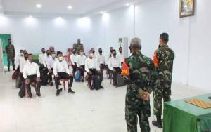 14 Pemuda Binaan Kodim Pangkalan Bun Lulus Jadi Prajurit TNI AD