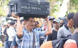 Belum Ada Lonjakan Penumpang Jelang Bulan Ramadan di Pelabuhan Sampit