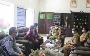 Bupati Barito Utara Terima Audiensi Kepala Kanwil DJPb Provinsi Kalteng