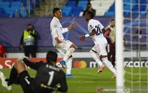 2 Gol Vinicius Junior Bawa Real Madrid Bekuk Liverpool 3-1