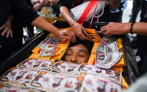 Militer Myanmar Tembaki Pengunjuk Rasa, 13 Orang Tewas