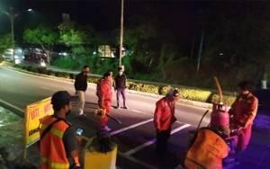 Rawan Kecelakaan, Dishub Kobar Pasang Pita Penggaduh