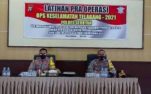Latihan Pra Operasi Keselamatan Telabang untuk Capai Sasaran