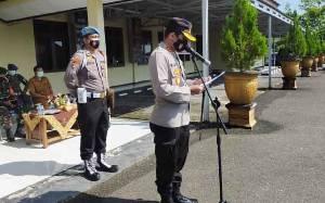 Operasi Keselamatan Telabang 2021 di Gunung Mas Diawali Apel Gelar Pasukan