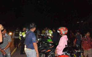 Polres Barito Selatan Amankan 31 Sepeda Motor Balap Liar