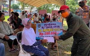 Bupati Seruyan Ingatkan Warga Desa Persil Raya Taati Protokol Kesehatan