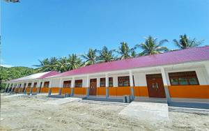 Sekolah Korban Gempa Dibangun dan Direnovasi Kembali