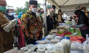 Pedagang di Pasar Ramadan Sampit Diminta Jangan Jual Makanan Tidak Sehat