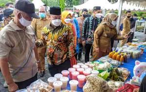 Terapkan Protokol Kesehatan di Pasar Ramadan