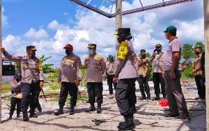 Pembangunan Asrama Siswa SPN Polda Kalteng Segera Selesai