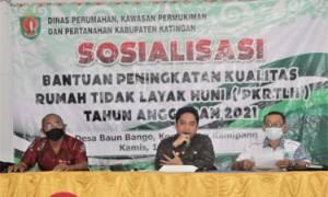 Kecamatan Kamipang Sosialisasikan Bantuan Peningkatan Rumah Tidak Layak Huni