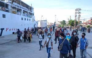 Sepi, Kapal Laut Hanya Angkut 500 Penumpang dari Pelabuhan Sampit