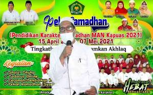MAN Kapuas Bimbing Peserta Didik Lewat Pendidikan Karakter Ramadan Secara Daring
