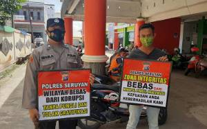 Road Show ke Masyarakat Polsek Seruyan Hilir Sosialisasikan Zona Integritas WBK WBBM