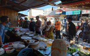 Operasi Yustisi di Kecamatan Katingan Hilir Sasar Pasar Ramadan