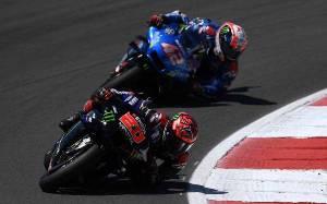 Quartararo Juarai GP Portugal, Rival-rival Bertumbangan