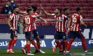 Atletico Madrid Pertahankan Puncak Klasemen Liga Spanyol