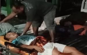 Avanza Kecelakaan di Tumbang Kawang Katingan Malam ini, 3 Penumpang Luka-luka