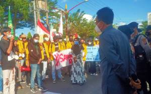 Aliansi Mahasiswa Gelar Aksi Damai Desak Pemerintah Sahkan RUU Penghapusan Kekerasan Seksual