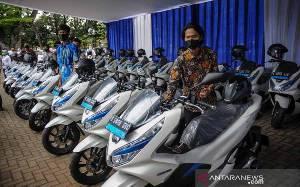 Pemerintah Targetkan 2 juta Sepeda Motor Listrik pada 2025