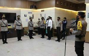 Kapolres Kapuas Pimpin Upacara Sertijab 3 Pejabat