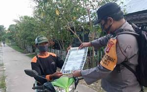 Polsek Kapuas Kuala Gencar Imbau Warga Cegah Karhutla