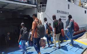 Penumpang di Pelabuhan Sampit Hanya 180 Orang
