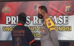 VIDEO: Bakar Lahan, Pria Asal Kotawaringin Lama Digelandang ke Polres Kobar