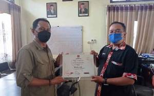 KPU Apresiasi PWI Gunung Mas Turut Sukseskan Pilkada Kalteng
