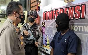 Terduga Pembunuh Paman di Pasar Keramat Sampit Terancam 7 Tahun Penjara