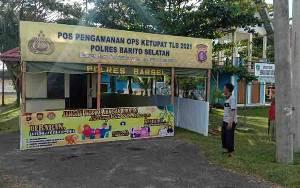 Peniadaan Mudik, Polres Barito Selatan Siapkan 3 Pos Penyekatan dan 1 Pos Terpadu