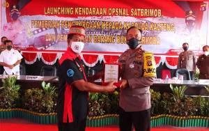 Kapolda Kalteng Terima Penghargaan dari Granat