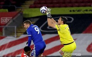 Leicester Ditahan Imbang 10 Pemain Southampton