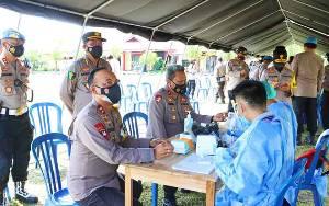 Personel Polda Kalteng Jalani Rapid Test, Kabid Humas: Bentuk Kepedulian Pimpinan