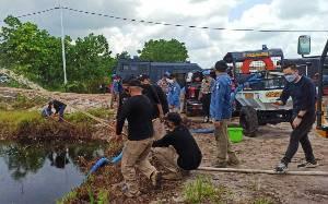 Tim Siaga Karhutla Polda Kalteng Patroli Skala Besar di Lokasi Rawan