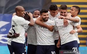 Guardiola Sanjung Penampilan Aguero saat Kalahkan Palace