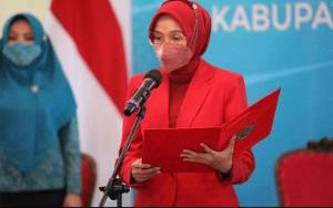 TP PKK Kalteng Terima Dua Penghargaan dalam Most Inspirational Regional Women Award 2021