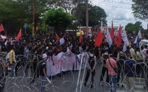 Mahasiswa di Palangka Raya Dilarang Demo