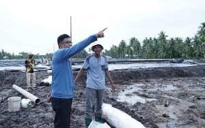 Sukamara Terima Program Pembuatan Tambak 1.000 Hektare