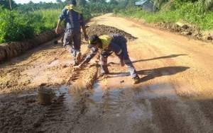 Perbaikan Jalan di Seruyan Ditarget Selesai Sebelum Lebaran