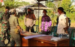 Sekda Murung Raya Cek Posko Terpadu Penyekatan Arus Mudik